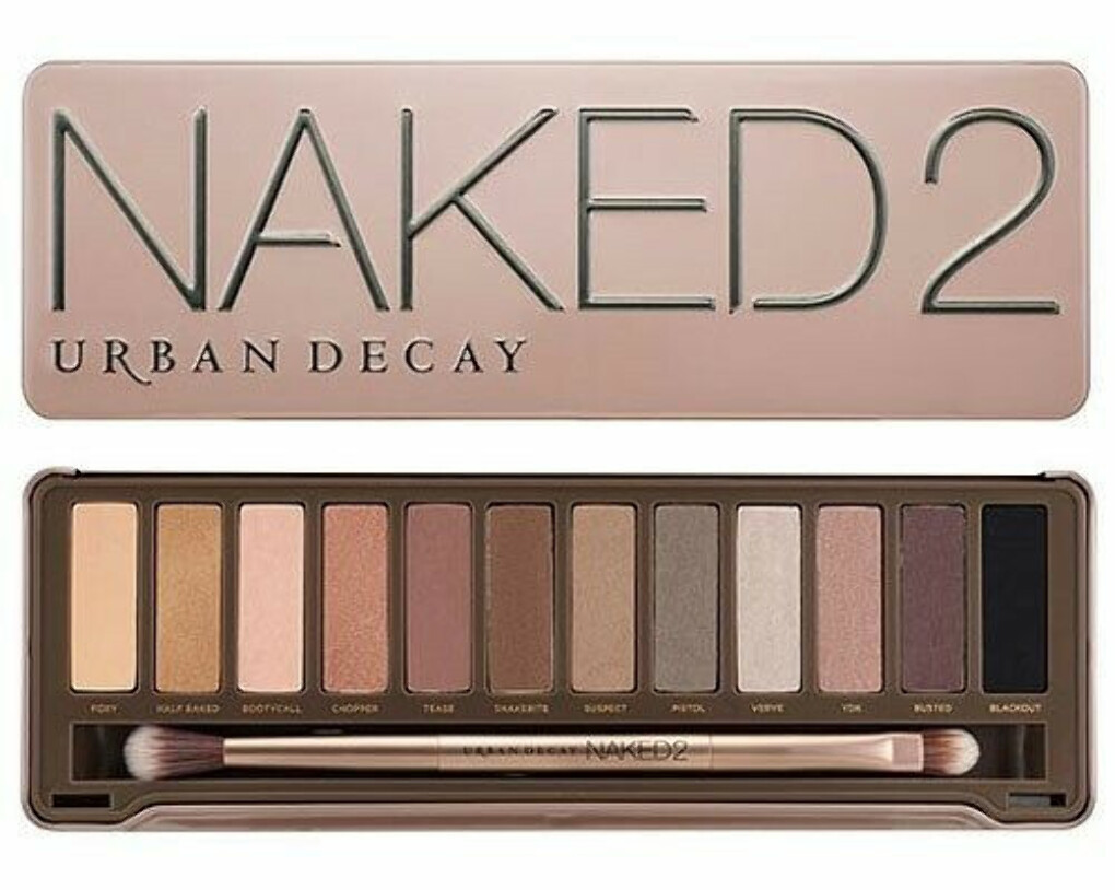 NEW URBAN DECAY NAKED EYESHADOW PALETTE 2
