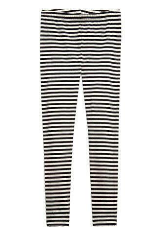 Classic Striped Leggings