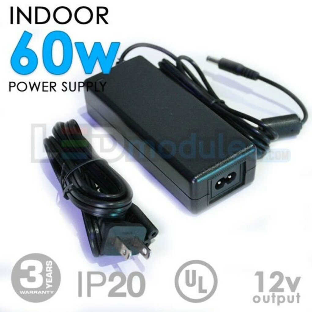 12V 60W Indoor Power Supply