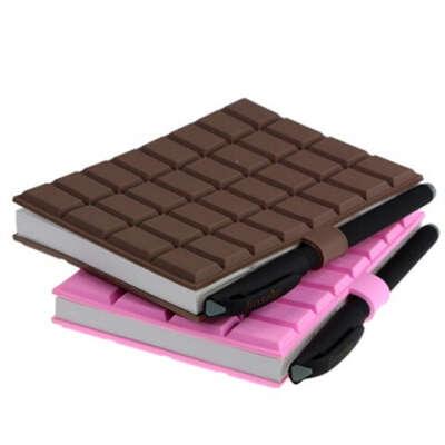 Хочу Блокнот с ручкой Большая шоколадка