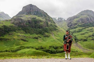 Поехать в Шотландию