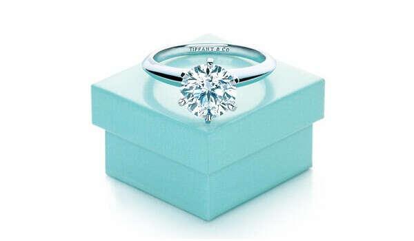 Обручальное кольцо от Tiffany