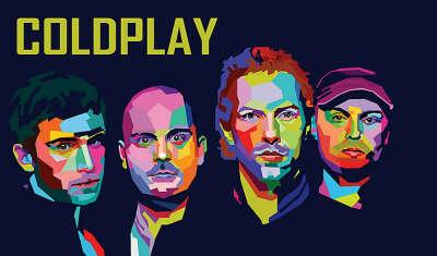 На живой концерт группы Cold Play в стране Европы