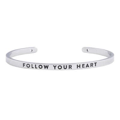 браслет FOLLOW YOUR HEART - BNGL