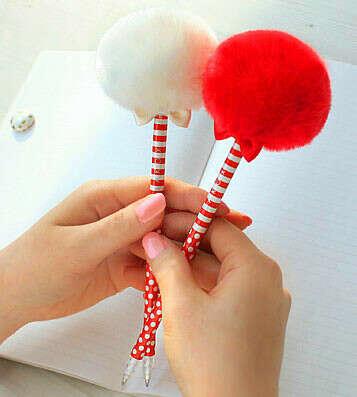 Ручка Pom Pom Long - Pierrot Red