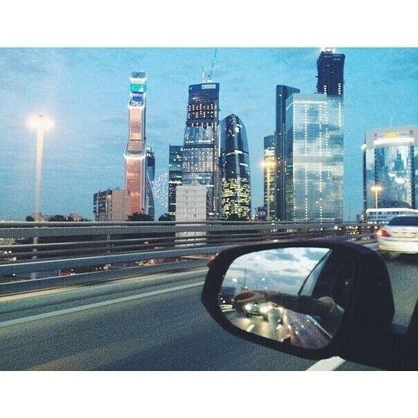 Поездка в Москву летом