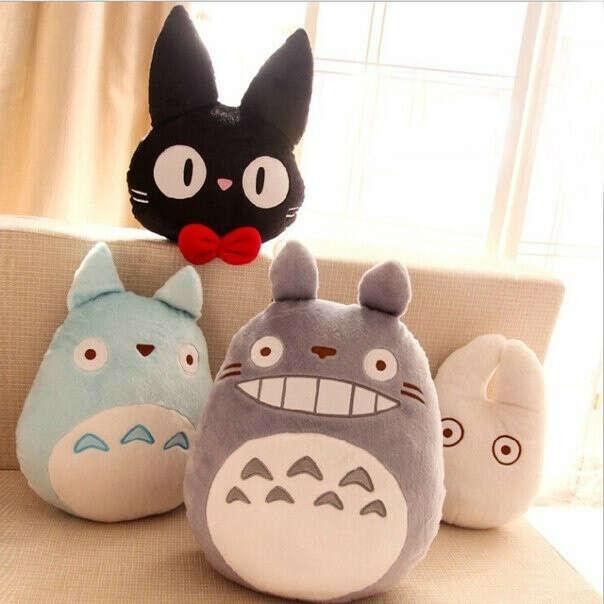Мягкие игрушки с персонажами аниме Мой сосед Тоторо.