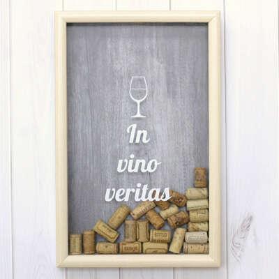 Копилка для винных пробок 'Wine'  / In Vino Veritas