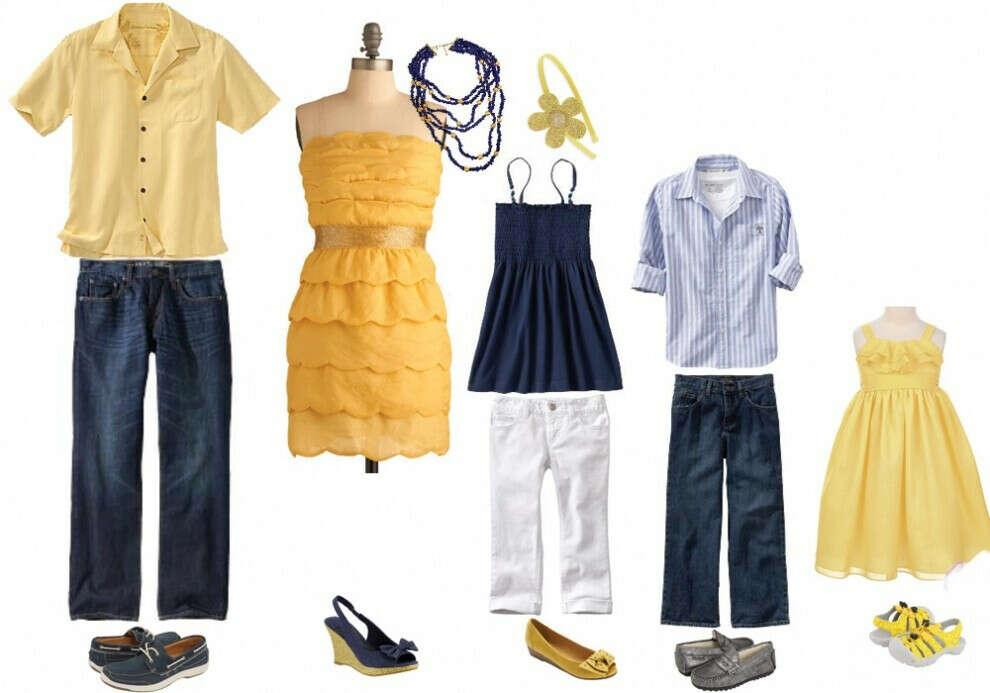 Накупить красивой одежды всей семье