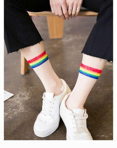 Радужные носки