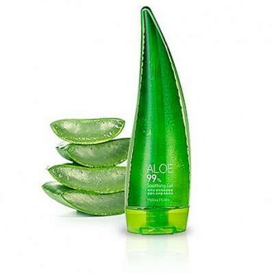 Holika Holika Aloe 99% Soothing Gel Универсальный несмываемый гель для лица и тела 55 мл