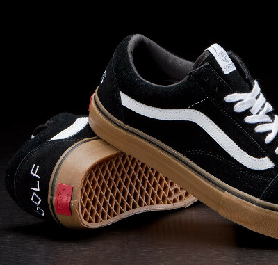 Кеды Vans Old Skool Pro Syndicate Golf Wang Black