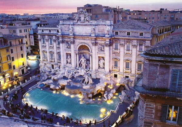 Поехать в Рим!