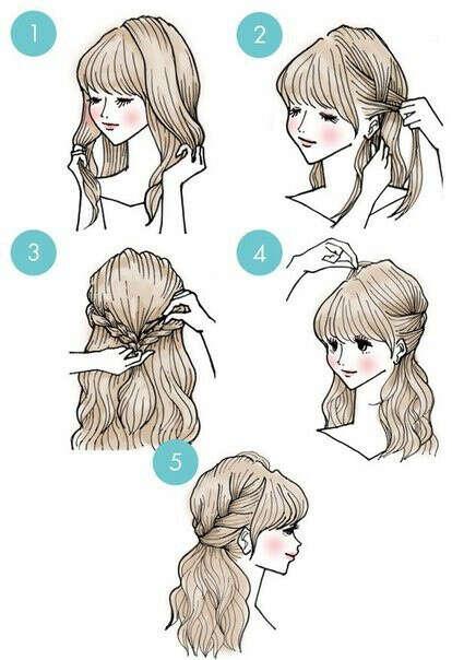 Научиться укладывать волосы и делать прически