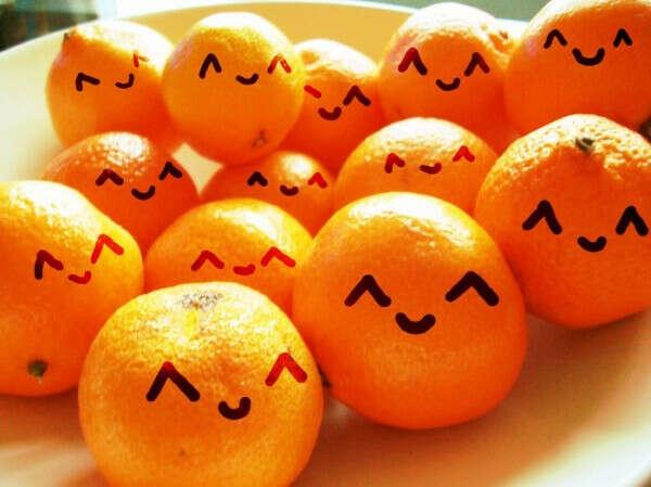 Много-много апельсинов ^^