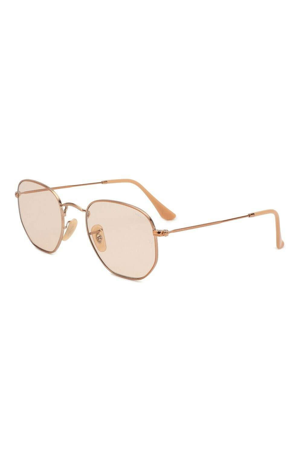 Женские золотые солнцезащитные очки RAY-BAN — купить за 12900 руб. в интернет-магазине ЦУМ, арт. 3548N-9131S0