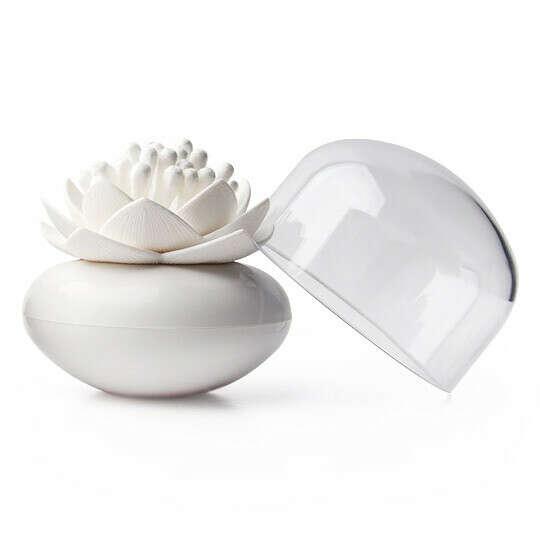 Контейнер для хранения ватных палочек Lotus  / Белый