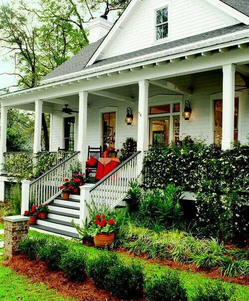 частный дом с верандой