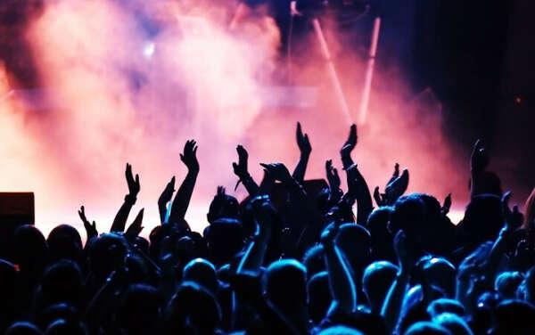На концерт