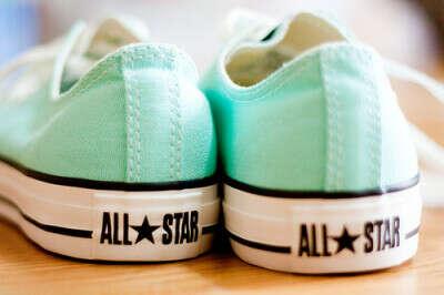 Мятные Converse