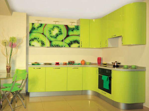 Кухню с фотопечатью