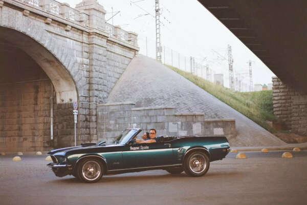 A ride in a cabriolet