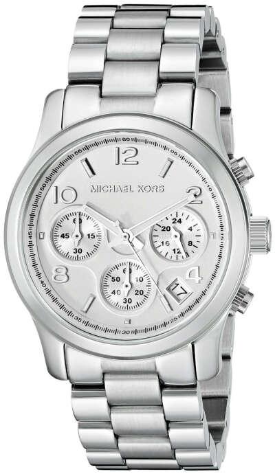 Michael Kors Women's Runway Silver-Tone Watch MK5076