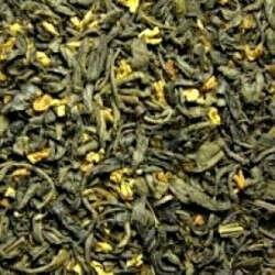 Зелёный чай с османтусом