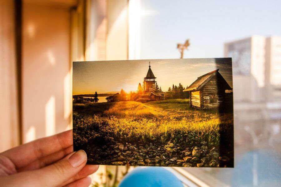 Получать открытки от друзей из других стран