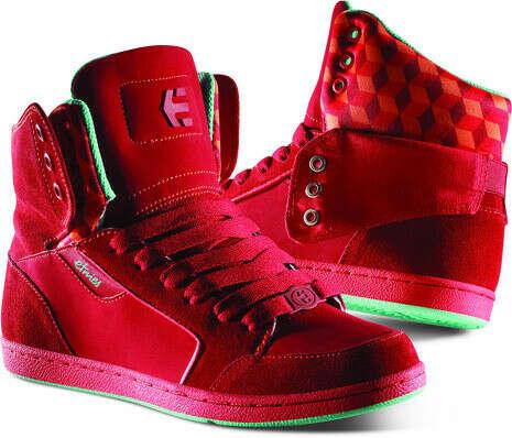 Купить кеды ETNIES Girl Woozy W'S red со скидкой в интернет магазине Сквот с доставкой по России.