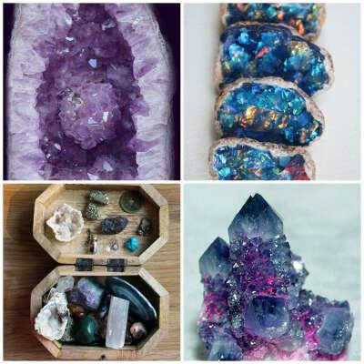 Необработанные камни