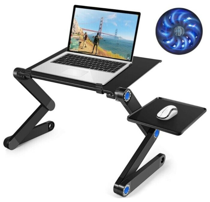 Стол-трансформер для ноутбука с охлаждением T8