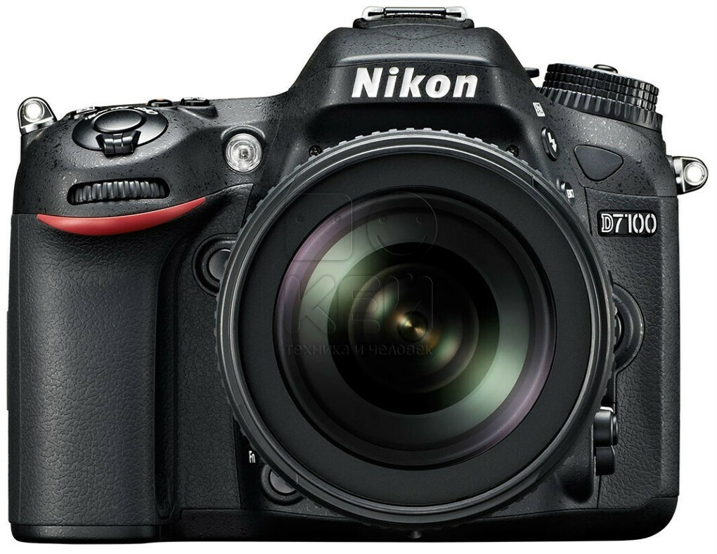 Фотоаппарат Nikon D7100 Black Kit 18-105  VR