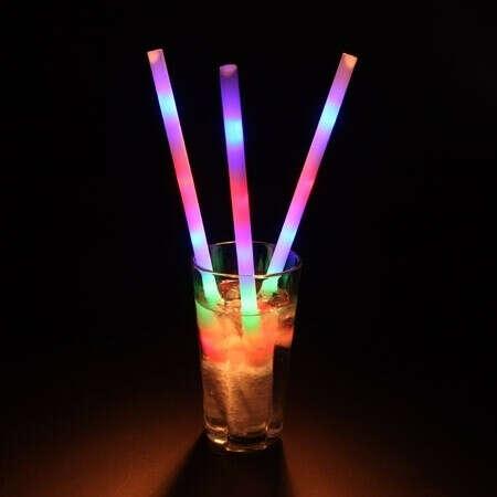 Светящиеся соломинки