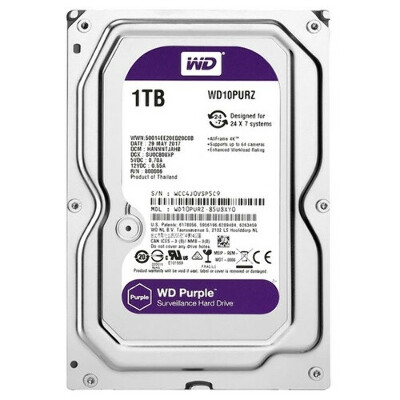 Жесткий диск Western Digital WD Purple 1 TB (WD10PURZ)