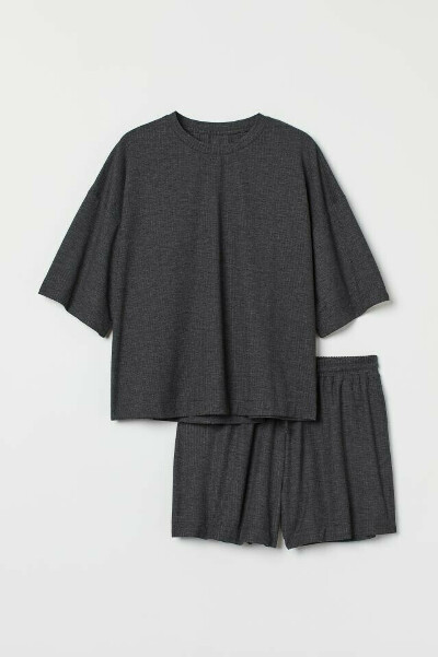 Пижама, темно-серый, размер S
