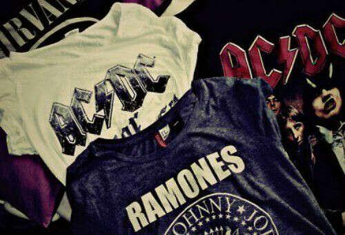 футболки с рок-группами