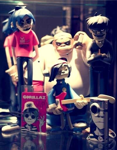Хочу статуэтки группы Gorillaz