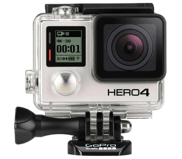 GoPro Hero 4 Black Edition Adventure (CHDHX-401) - экшн-камера