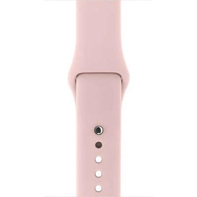 Ремешок для apple watch 38 mm «розовый песок»