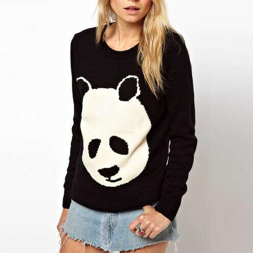 Джемпер панда