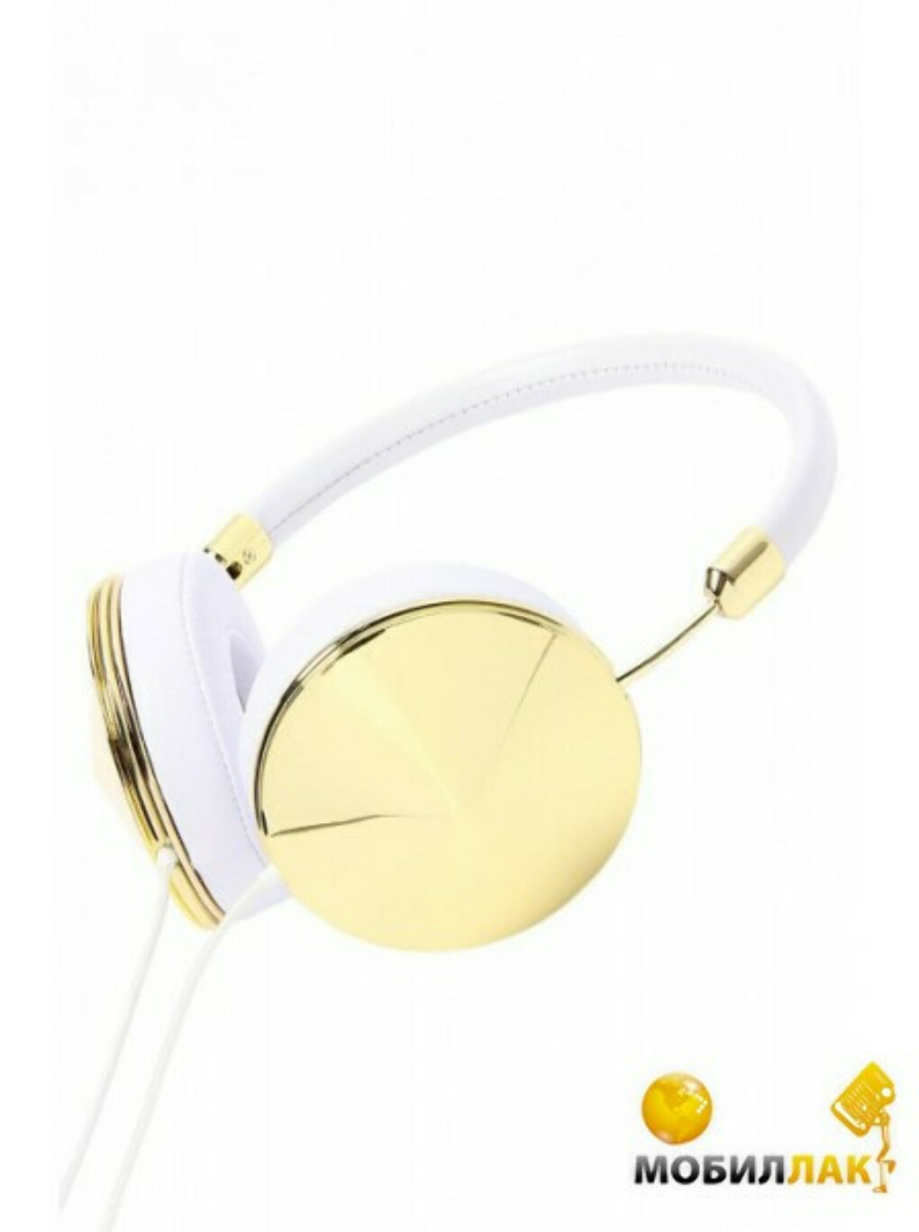 Наушники Frends Taylor Over-Ear Headphones Leather White/Rose Gold (010897)