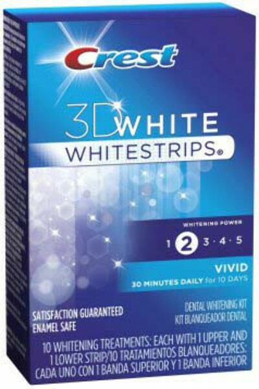 Crest 3D White Whitestrips Vivid