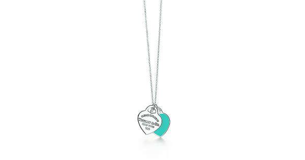 Tiffany & Co. -  Return to Tiffany™: двойная подвеска в форме сердца