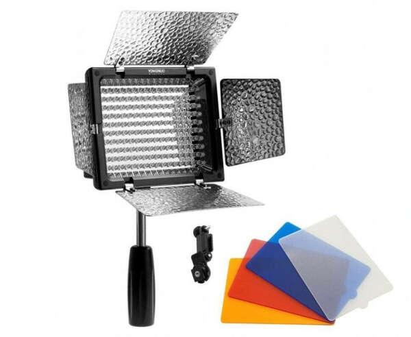 Видеосвет с фильтрами