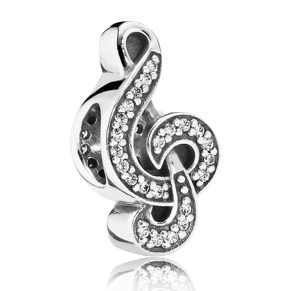 Pandora Music Note charm