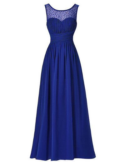 Элегантное длинное платье (для выпускного)