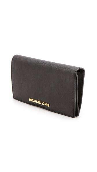 MICHAEL Michael Kors                                            Большой узкий дорожный кошелек Jet Set