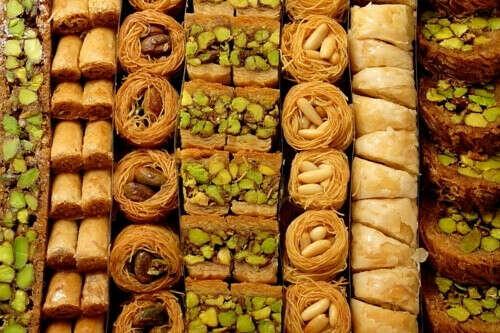 Набор восточных сладостей