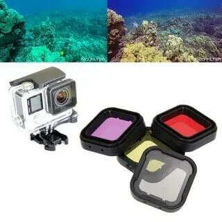 Фильтры для подводной съемки gopro